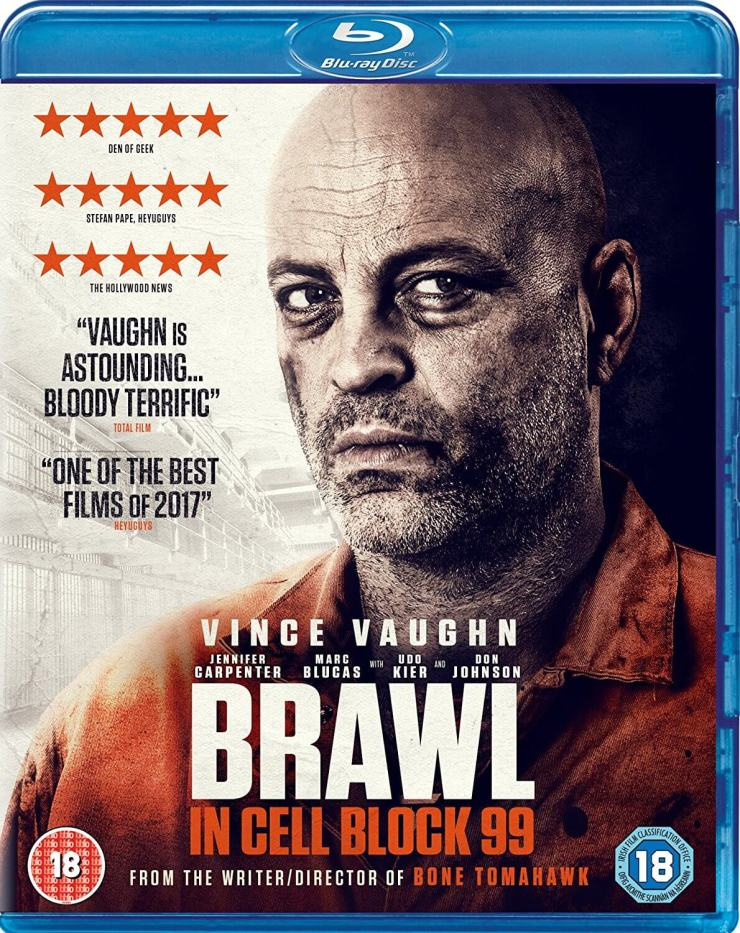 brawl in cell blck 99 uk blu ray cover 1 - Brawl in Cell Block 99 Unleashed in the UK; New Clip