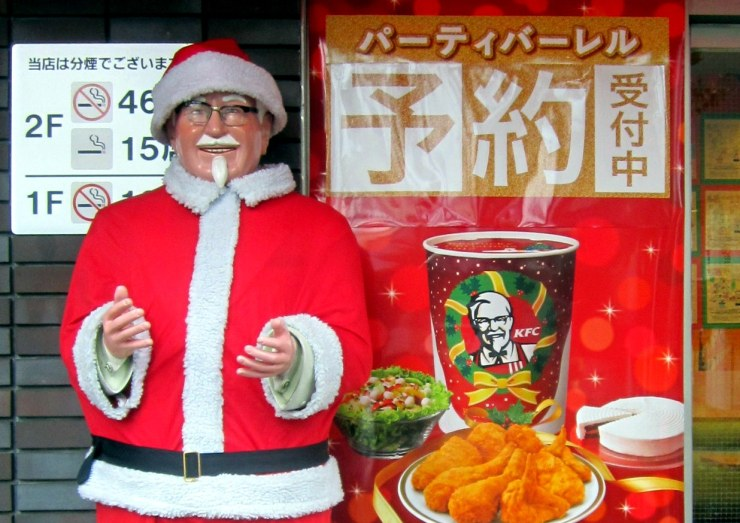 christmas kfc - 10 Truly Wacky Xmas Facts, Happenings and Traditions