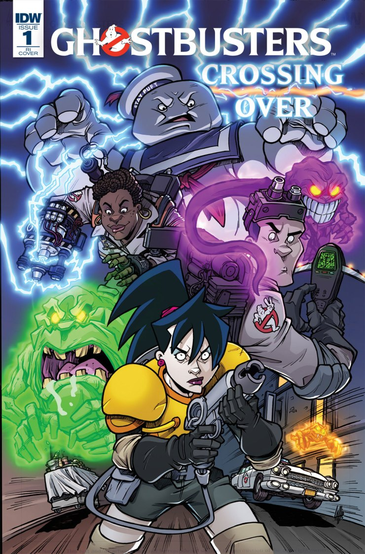 ghostbusters crossing over1 - Epic 8-Issue Ghostbusters: Crossing Over Event Comic Series Kicks Off in March