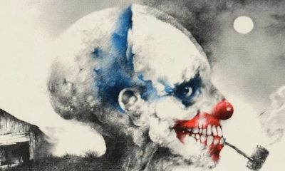 scary stories to tell in the dark cover clown banner - Additional Cast & Production Start-Date Announced for Del Toro's SCARY STORIES TO TELL IN THE DARK