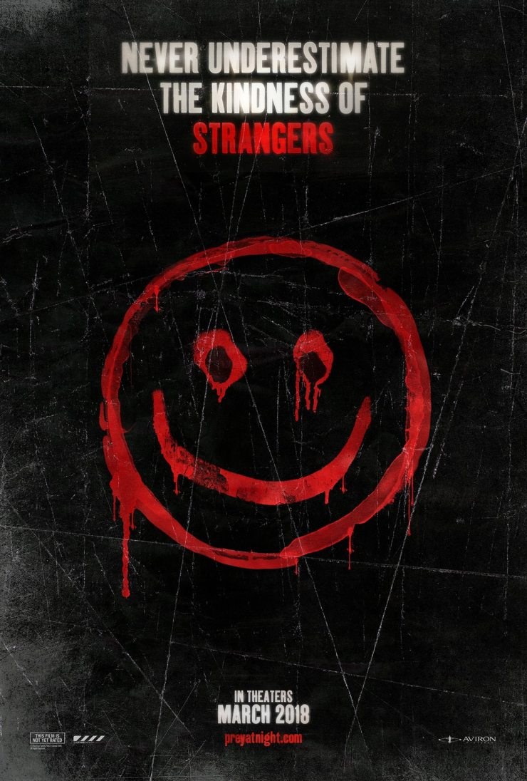 strangers poster - The Strangers: Prey at Night and Spread Holiday Fear
