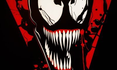 venom posters - Early First Look at CG Model for Venom?