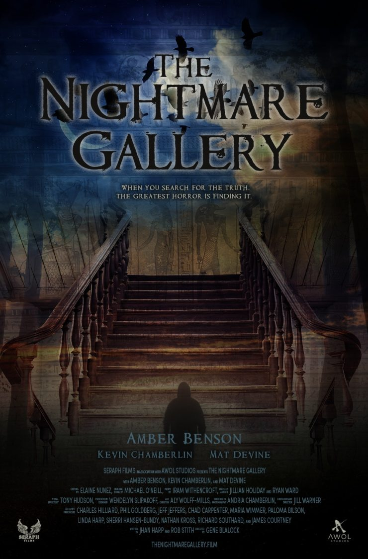 NMG poster web - Amber Benson Gives Us The Lowdown on Her Upcoming Project The Nightmare Gallery