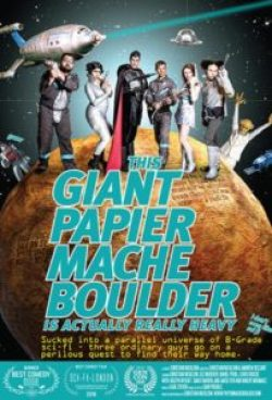 PapierMacheBoulder 204x300 - This Giant Papier Mache Boulder Is Actually Really Heavy Review - With A Title This Long, It's Gotta Be Good, Right?