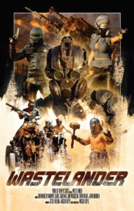 wastelanderposter 191x300 - Exclusive: Wastelander Trailer Bathes in 80's Sci-fi Action/Horror Goodness