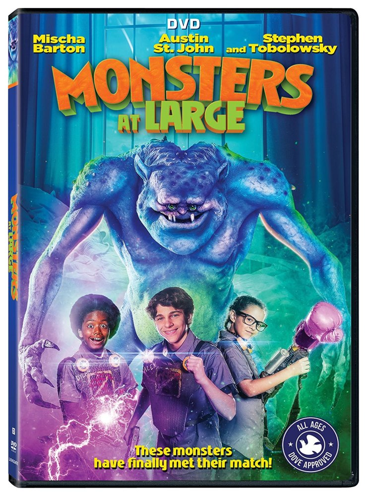 MonstersAtLargeDVD - The Kids Lead the Charge When There are Monsters at Large