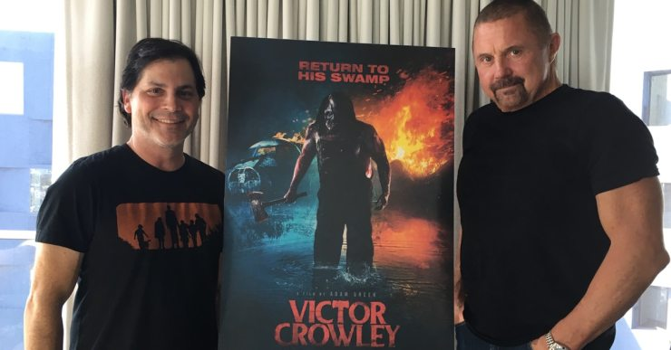 adam green Kane Hodder - Adam Green and Kane Hodder on Victor Crowley, Filmmaking Hurdles and Swamp Witches