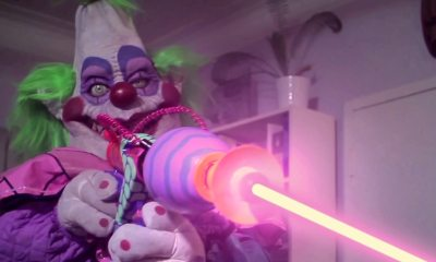 hellskittykillerklownsbanner1200x627 1 - Exclusive: Killer Klowns Live On in This Hell's Kitty Clip!