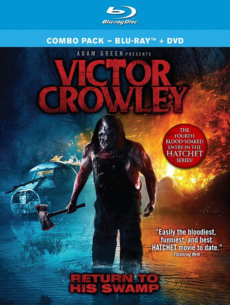 victor crowley blu ray - Adam Green and Kane Hodder on Victor Crowley, Filmmaking Hurdles and Swamp Witches