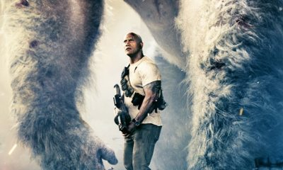RAMPAGE - Dwayne Johnson's  Rampage Release Date Moves Up a Week to Friday the 13th