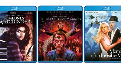ScreamFactory3CarpenterFlicks - Scream Factory Announces New John Carpenter Blu-rays Including In the Mouth of Madness Collector's Edition
