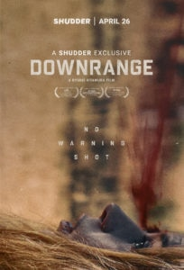downrangeexclusiveposterreveal 204x300 - Exclusive: DOWNRANGE Poster and Clip Bring Gore and Terror