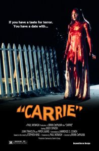 Carrie 1976 Movie Poster 196x300 - Did Carrie White Survive Prom Night? Fan Theory Suggests She's Alive in CASTLE ROCK