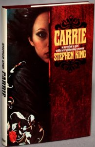 Carrie Novel 1974 Cover 195x300 - Did Carrie White Survive Prom Night? Fan Theory Suggests She's Alive in CASTLE ROCK