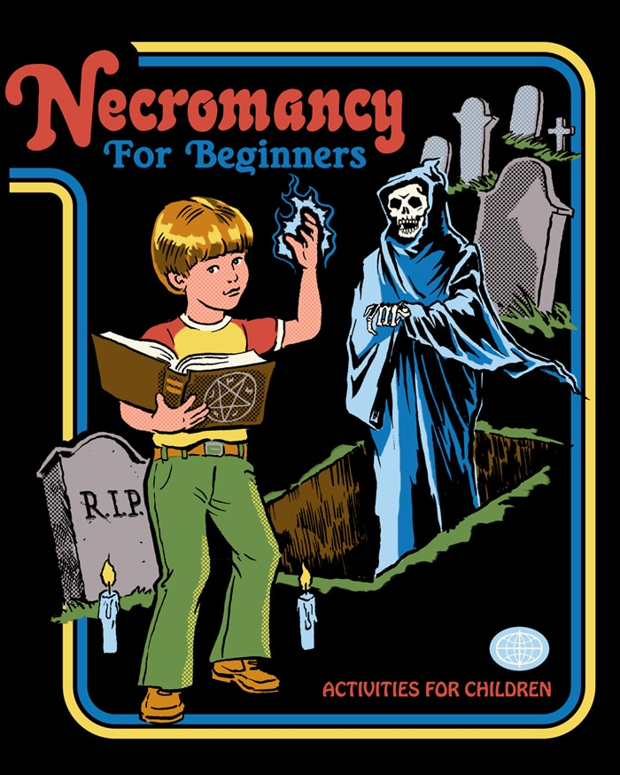 Necromancy for Beginners - This Australian Artist is Putting a Morbidly Funny Spin on 70s Nostalgia