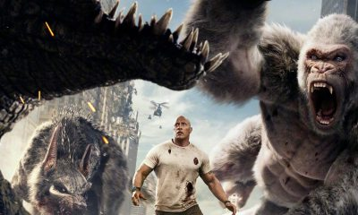 Rampage Bluray - RAMPAGE Roars Onto 4K Ultra HD and Blu-ray/DVD this July