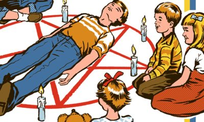 Lets Summon Demonss - This Australian Artist is Putting a Morbidly Funny Spin on 70s Nostalgia