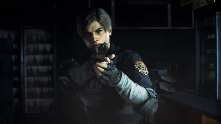 RE2 Announce Screen 04 png jpgcopy - E3 2018: We Go Hands-On Into Raccoon City With RESIDENT EVIL 2 Remake