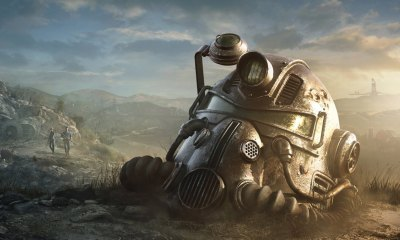 fallout 76 power armor helmet 1 - Bethesda Donating FALLOUT 76 Song Proceeds To Charity