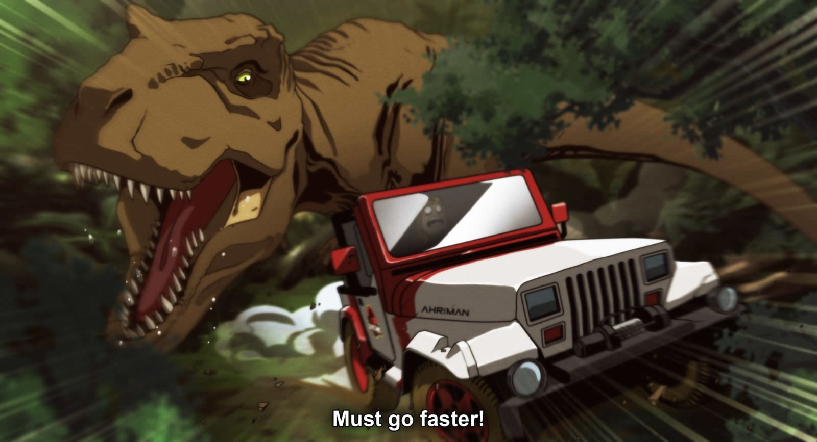Ahriman JURASSIC PARK 3 - Must-See Art: Ahriman Turns Classic Flicks Into Anime!