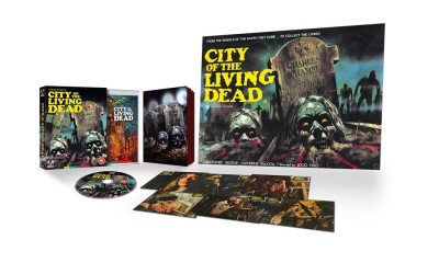 Arrow Lucio Fulci - CITY OF THE LIVING DEAD 4K Blu-ray Coming this October