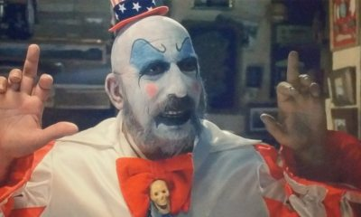 Captain Spaulding 1 - Zombie Reveals THREE FROM HELL Captain Spaulding Poster