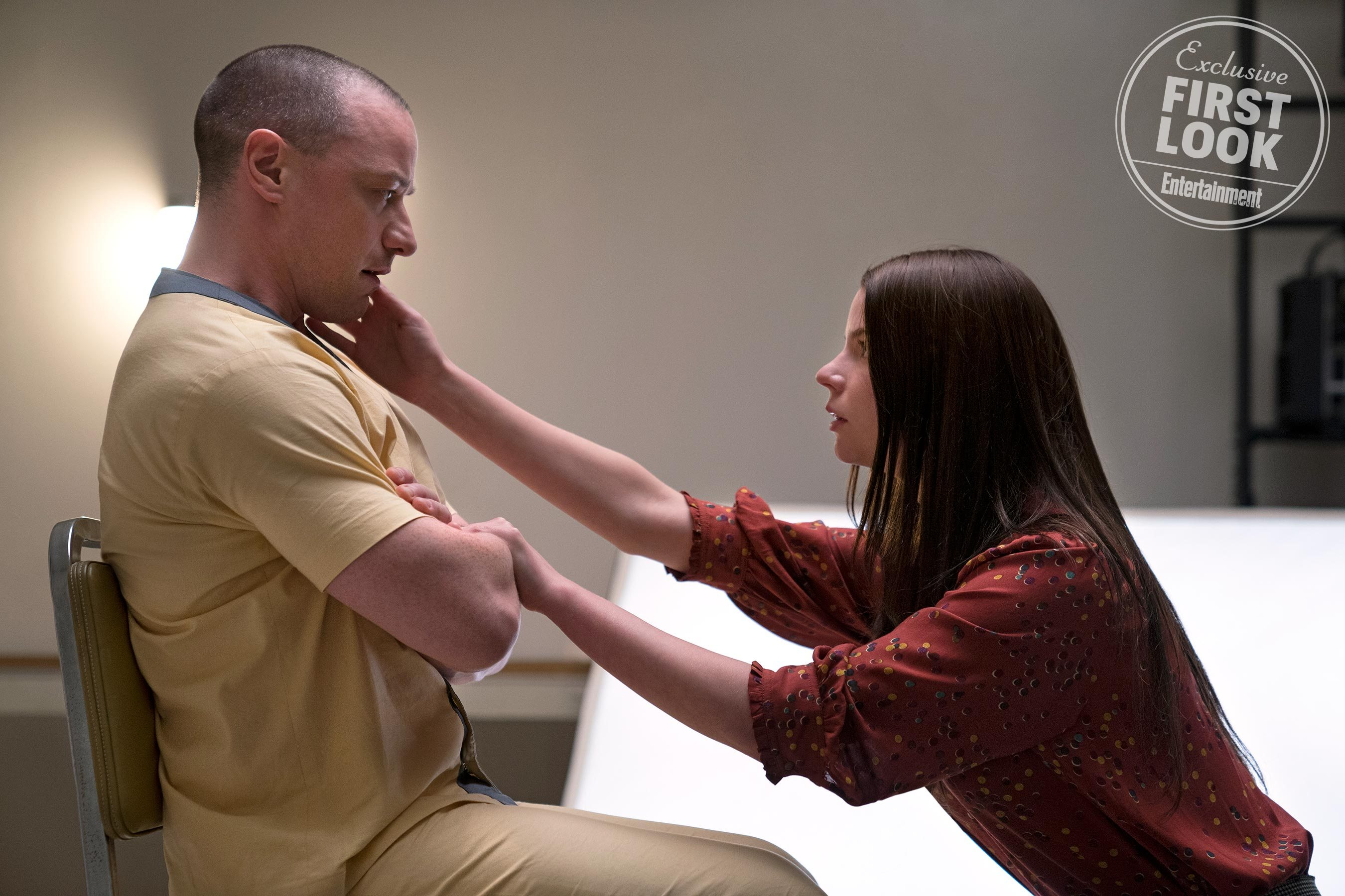 Glass Pic 2 - New GLASS Pics Featuring Willis, Jackson, Joy, and McAvoy