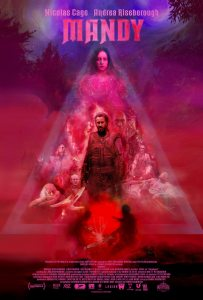 MANDY posteer 203x300 - Shudder Will Be the Exclusive Home of 2018's Breakout Horror Hit MANDY