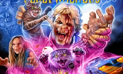 SLEEPWALKERS 1 - SLEEPWALKERS Blu-ray Review - King's Creepy Cat Tale Gets a Loaded Release