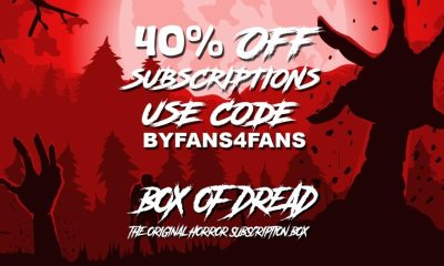 featured sale - 4th of July Sale Get 40% Off Box of Dread Subscriptions
