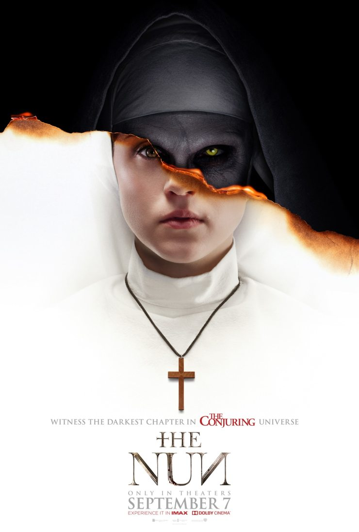 the nun poster - #SDCC18: THE NUN Appears in Time for Comic-Con