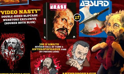 ManEaterBundleweb Copy - ANTHROPOPHAGOUS & ABSURD First Time Ever Uncut Blu-Rays Come With Plush Toy!