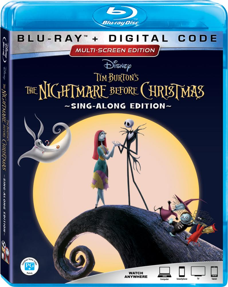 THE NIGHTMARE BEFORE CHRISTMAS 25th Anniversary Blu-ray Details ...
