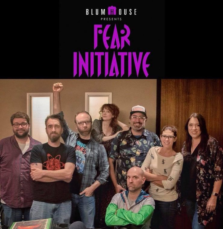 fearinitiativecast - Blumhouse Rolls a 20-Sided Die With FEAR INITIATIVE Podcast