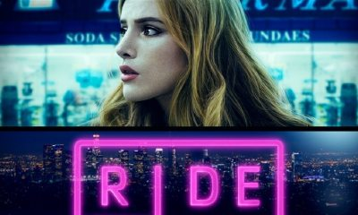 RIDE Poster DC 1 1 - TRAILER: Jeremy Ungar's RIDE Starring Bella Thorne