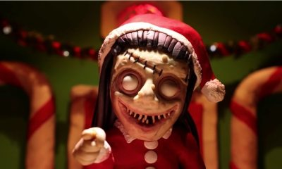 Beauty of Horror - Santa Slaughters Rudolph & Friends in Ultra-Violent BEAUTY OF HORROR Claymation
