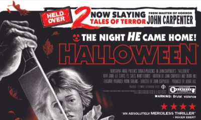"H40 Poster Clip - Exclusive Look at Limited Edition HALLOWEEN: 40 YEARS OF TERROR Poster by ""Ghoulish"" Gary Pullin!"