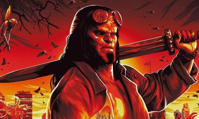 Hellboy banner 1 - HELLBOY Banner A Work Of F*cking Art!