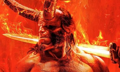 Hellboy poster 1 - HELLBOY Poster is Legendary as F*ck