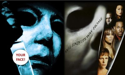 """Myers Knife - See Your Reflection in Michael Myers' Knife with Clever HALLOWEEN """"Face Your Fate"""" Video Generator"""