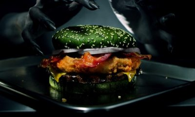 Nightmare King - Burger King Says Their Latest Halloween-Themed Sandwich Gives You Actual Nightmares!