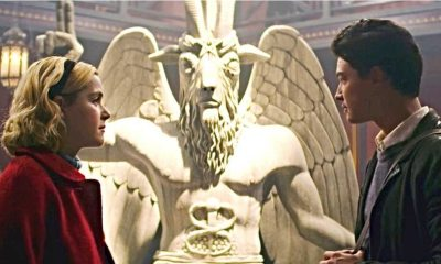 Chilling Adventures of Sabrina - Not All Satanists Are Offended by Baphomet Statue in CHILLING ADVENTURES OF SABRINA