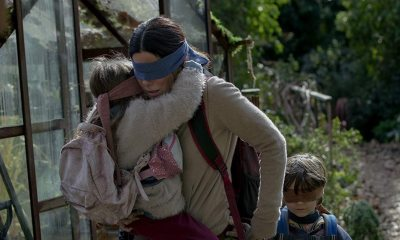 Bird Box Scene - Trailer for Apocalyptic BIRD BOX Forces You to Face Your Darkest Fears