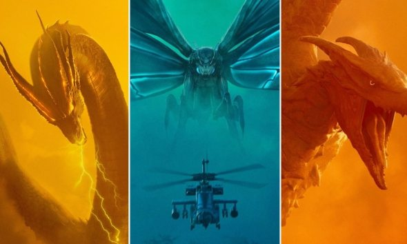 Godzilla 2 Posters - Mothra, Rodan & King Ghidorah Each Get Personal Poster for GODZILLA: KING OF THE MONSTERS