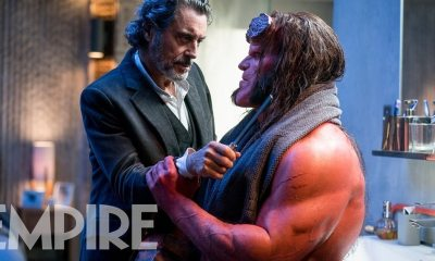 Hellboy 2019 Empire Mag - David Harbour Describes Extreme Violence We'll See in HELLBOY