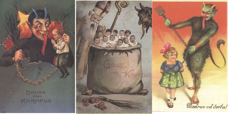 Krampus Triptych 01 - The Anti-Claus is Coming to Town! A Brief History of Krampus