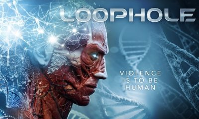 Loophole Banner - Exclusive Trailer Premiere, Poster & Images for High-Concept Violent Sci-fi LOOPHOLE