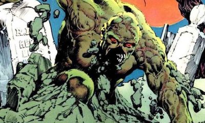 Swamp Thing Comic - Check Out the Foggy Atmospheric Swamp from the Upcoming SWAMP THING TV Series