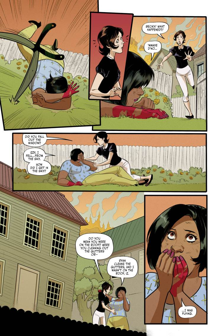 hexwitchesissue4 2 - Exclusive HEX WIVES Issue #4 Preview Goes For a Flight