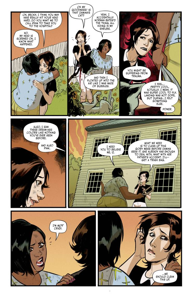 hexwitchesissue4 3 - Exclusive HEX WIVES Issue #4 Preview Goes For a Flight